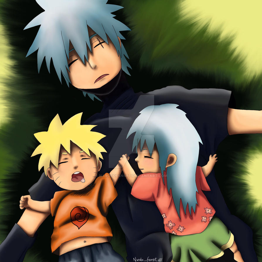 Kakashi's Family by NarutoF4n4rt on DeviantArt