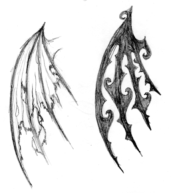 wing tattoo sketches by ~wardy360 on deviantART