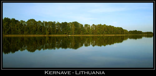 Kernave lake - Lithuania by sherardia