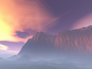 The Wall - Terragen by Ish-car-ha-ba