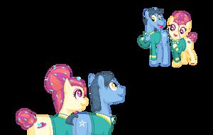 Pony Tones [Ponymon] by kirigakurenohaku
