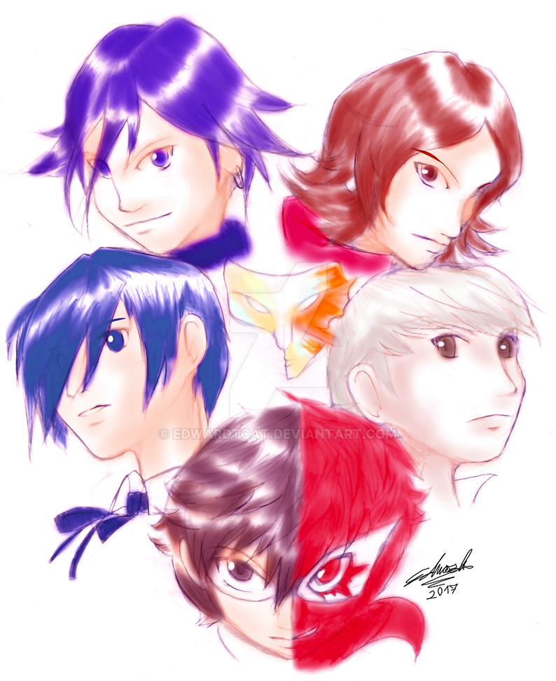 Persona Heroes by EdwardTCat