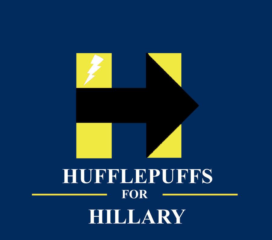 Hufflepuffs for Hillary! by HawkEagleWolf