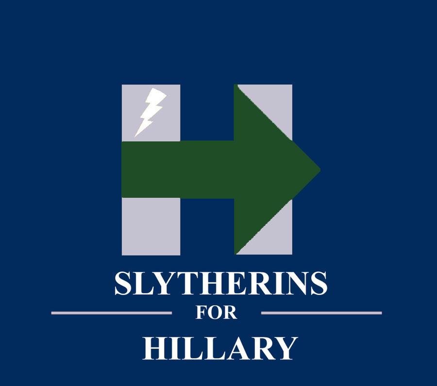 Slytherins for Hillary (Green Arrow)! by HawkEagleWolf