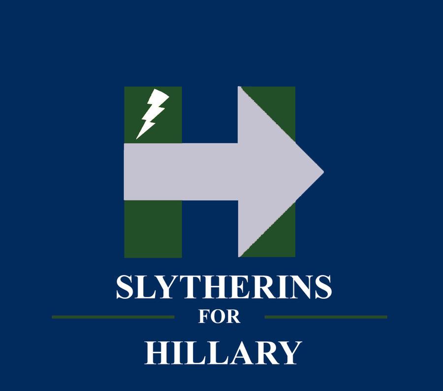 Slytherins for Hillary (Silver Arrow)! by HawkEagleWolf