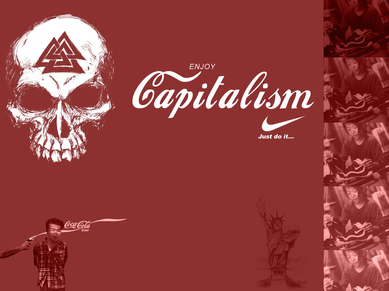 Enjoy capitalism by diabloburn on deviantart