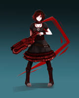Ruby Rose - alt outfit by FixelCat