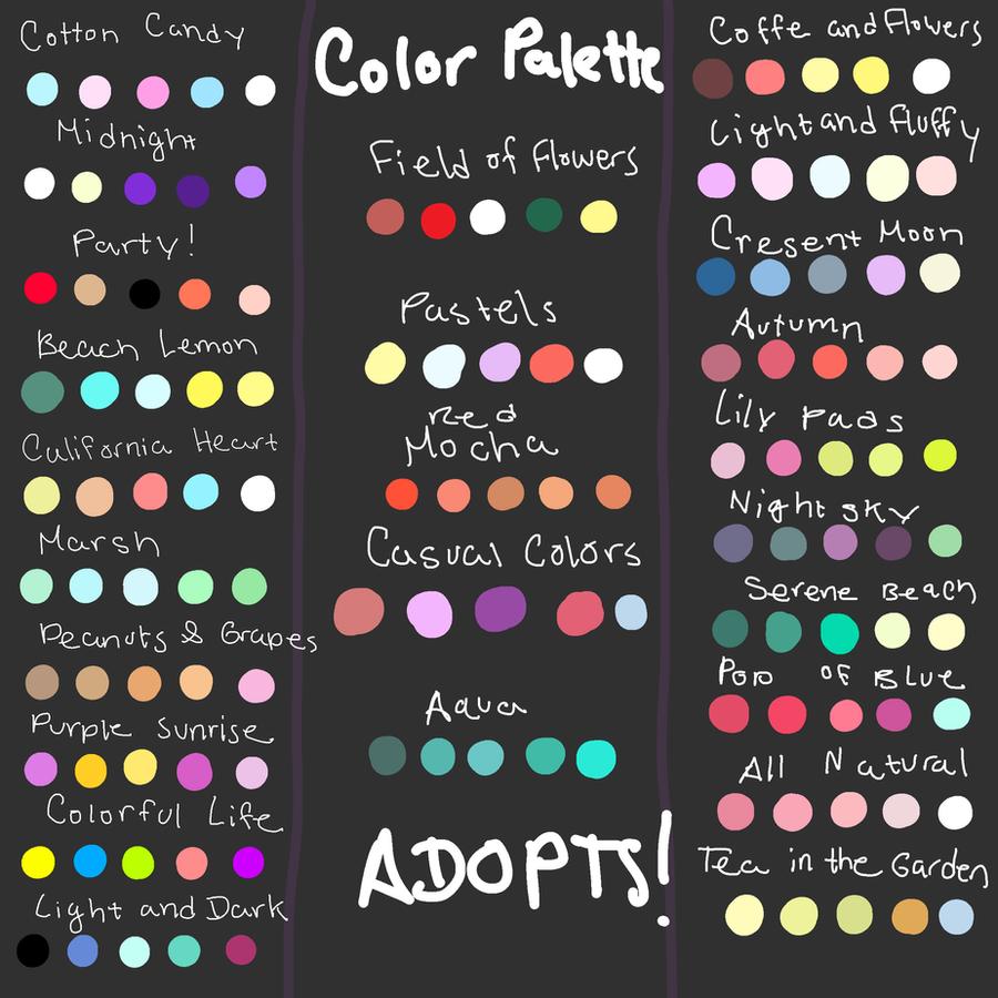 Giant Color Palette Adopt Dump Read Desc Closed By
