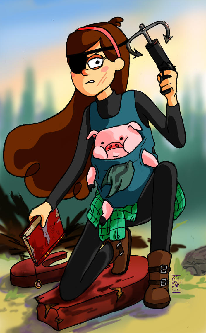 Mabel Pines (Gravity Falls) by CeciliaSal