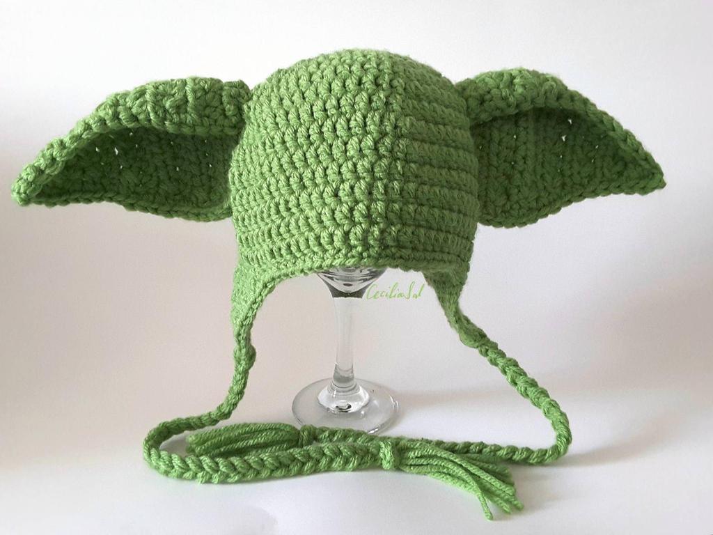 Yoda Hat by CeciliaSal