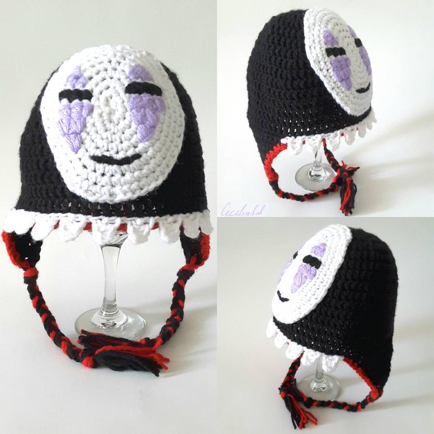 Kaonashi (No Face) hat by CeciliaSal