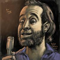George Carlin by sobreiro