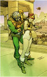 Man-at-Arms and Teela - colors