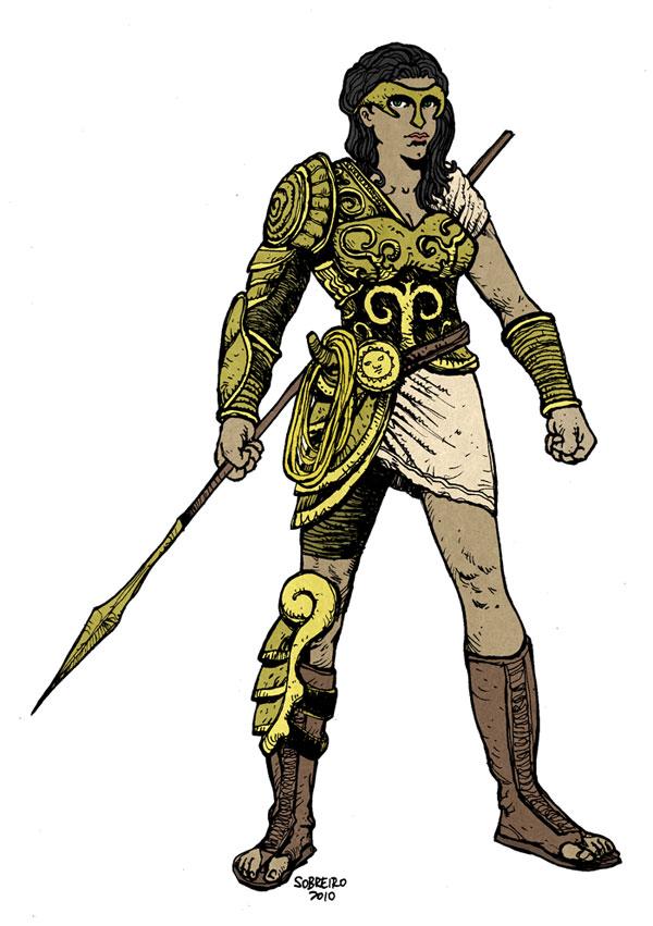 Wonder Woman Redesign by sobreiro