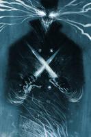 Legend of Luther Strode #4 - Cover by sobreiro