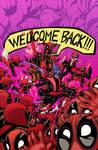 Amazing X-Men #1 - Deadpool Variant - COLOR