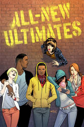ALL-NEW ULTIMATES #1 - Dave Marquez Variant COLOR by sobreiro