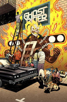 ALL-NEW GHOST RIDER #6 - Cover colors