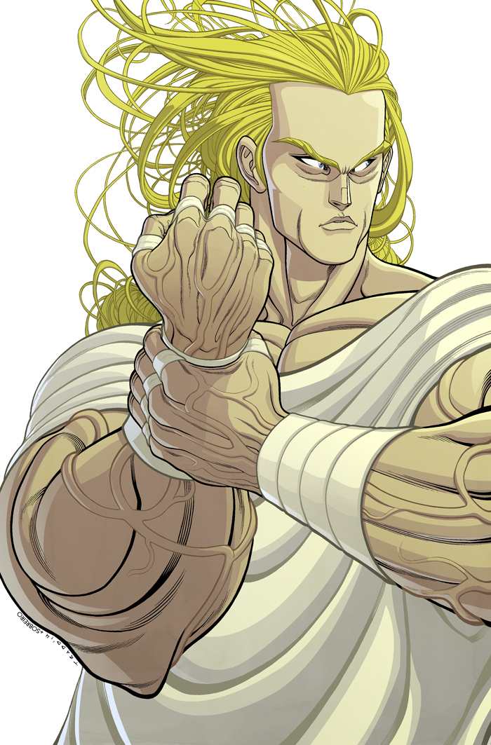 THE LEGACY OF LUTHER STRODE Issue 1 Cover COLOR by sobreiro