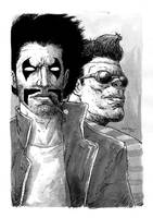 Just 1 Page: Lobo+Ranxerox by sobreiro