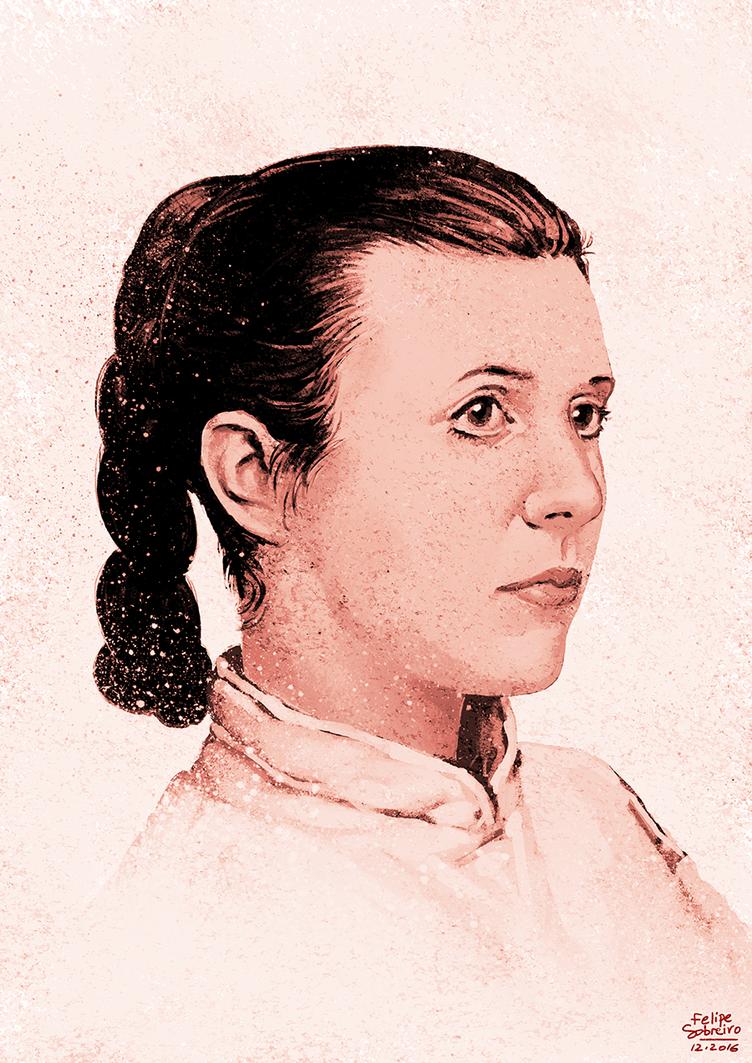 Princess Leia by sobreiro