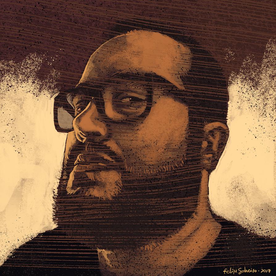 2017 Self-portrait by sobreiro