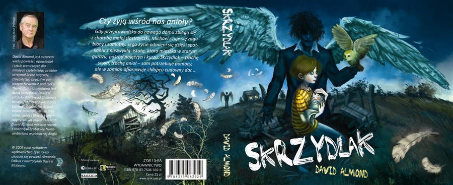 Skellig Cover Design by Farawaytale