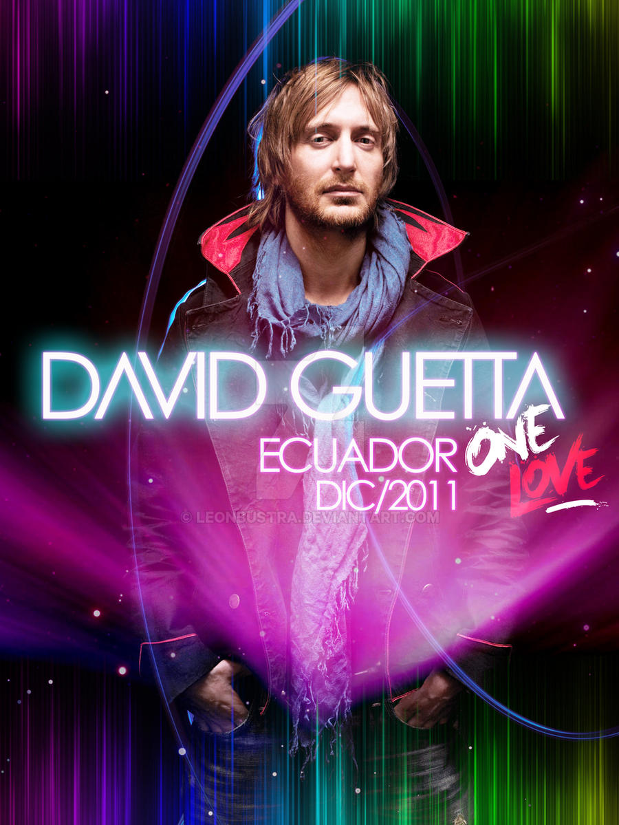 DAVID GUETTA POSTER by Leonbustra on DeviantArt