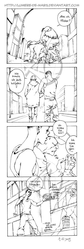 4-Panel-Comic: Gefallen by Lumiere-de-Mars