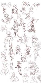 Anime Doodles