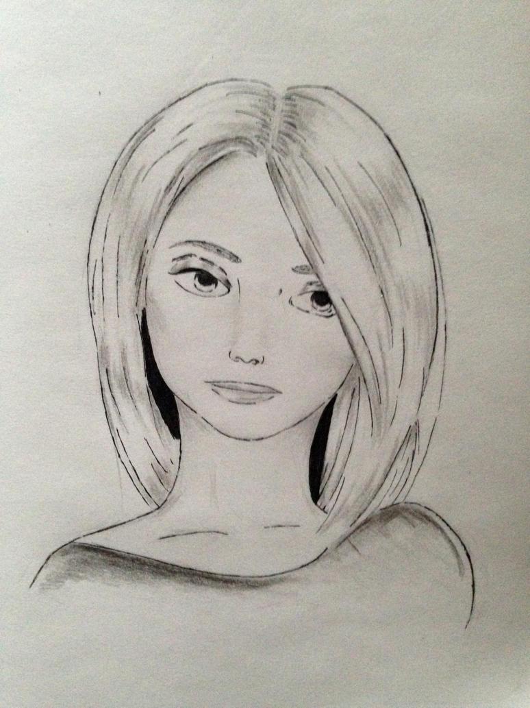 long bob girlie by ONyalaO