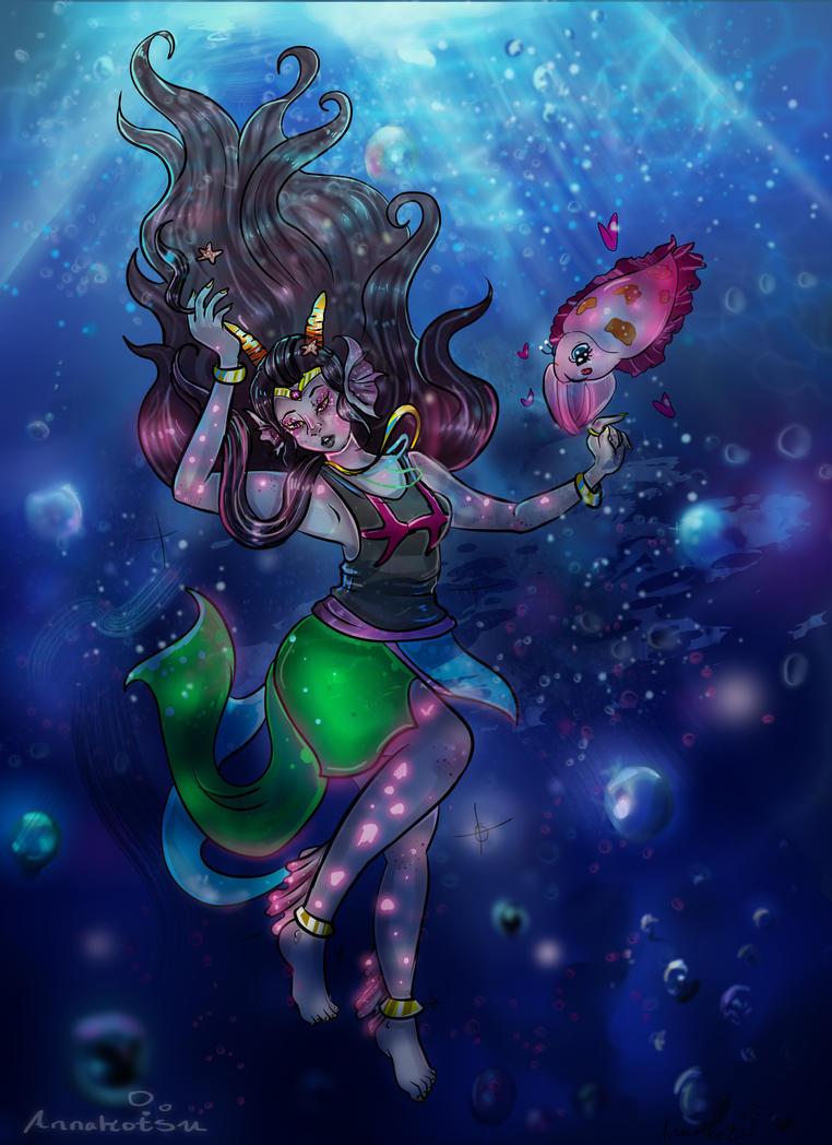Ocean Deep by Annakotsu