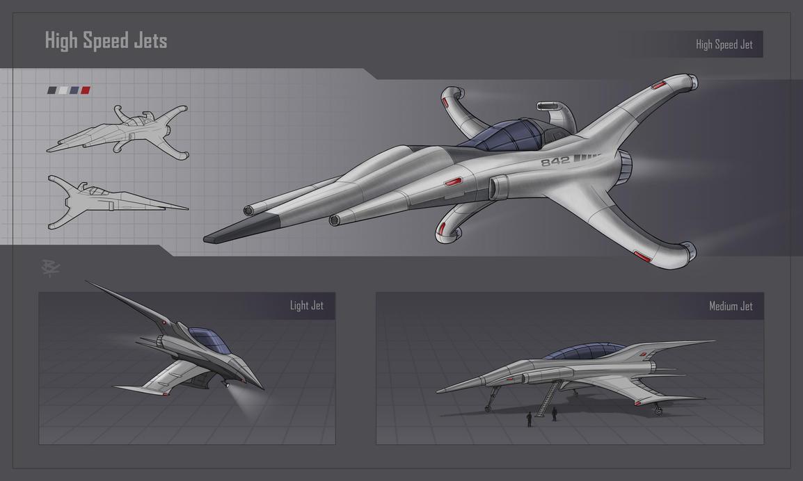 High Speed Jets by RadoArts
