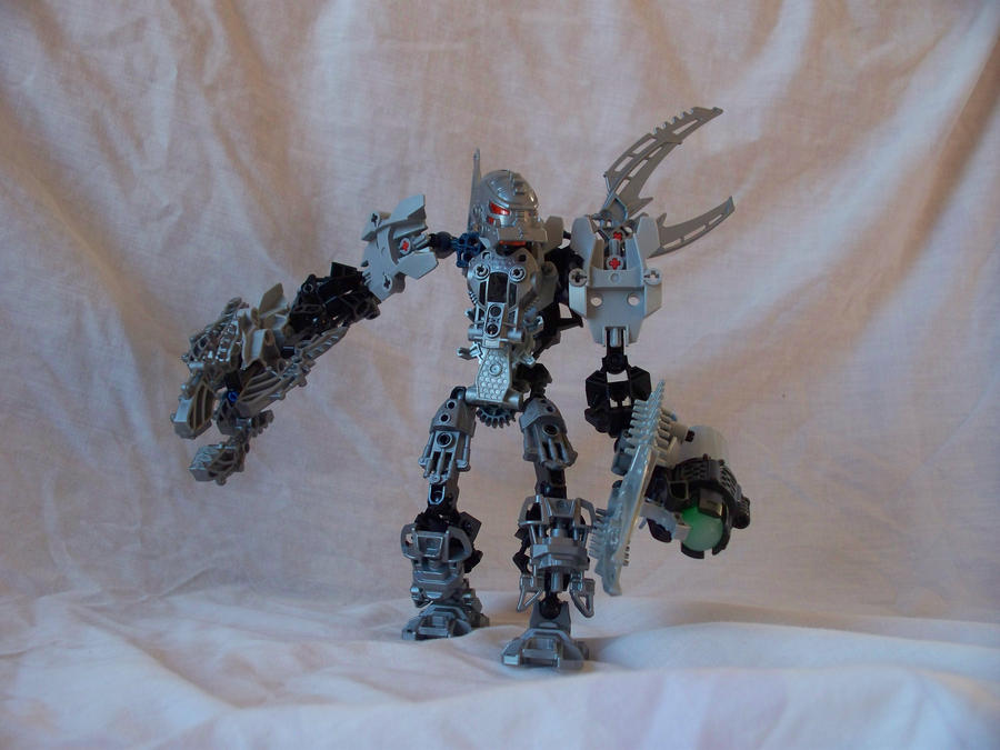 Bionicle MOC Thanhatu by jumpstartautobot