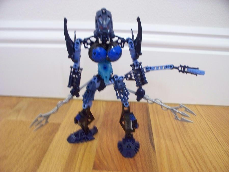 Bionicle MOC: Seichi by jumpstartautobot