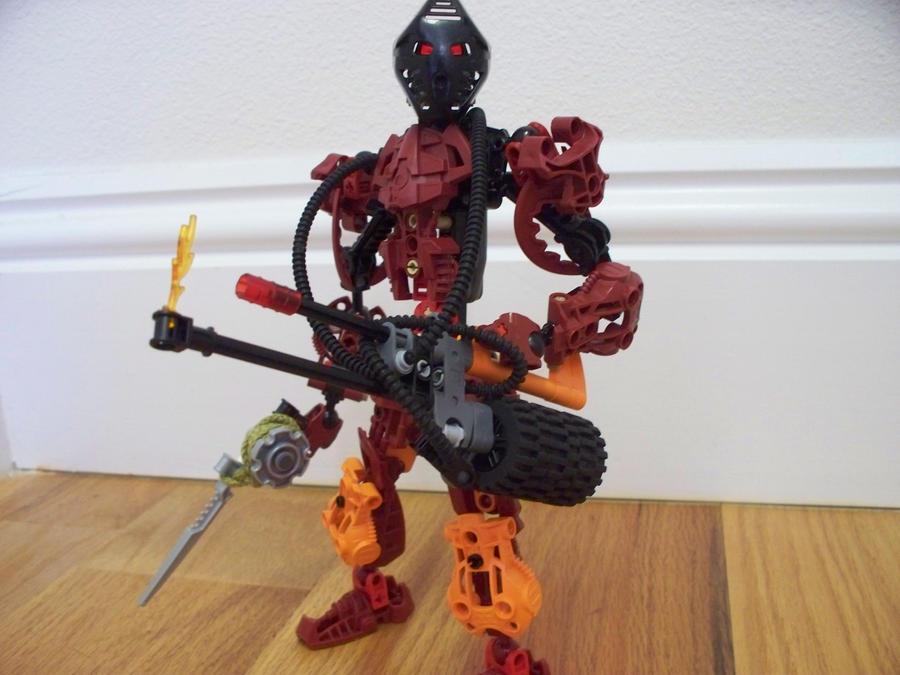 Bionicle MOC: Sai by jumpstartautobot