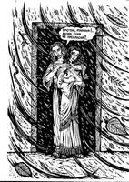 Jesus Christ and Mary Magdalene - storm by talfar