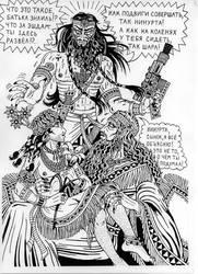 Ninurta, Shara and Enlil by talfar
