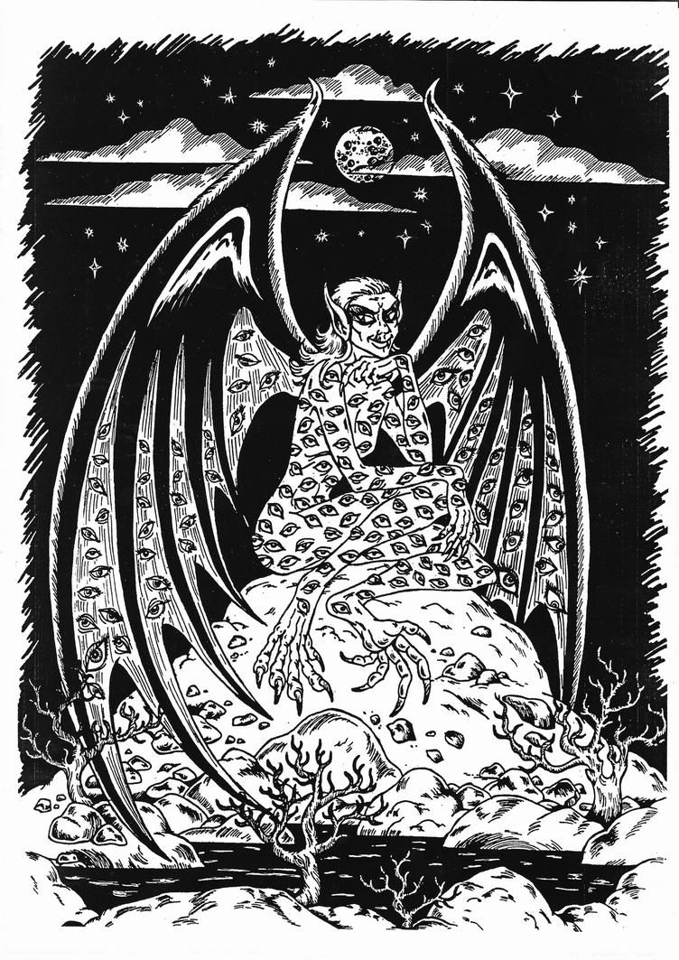 Malchamoves - Jewish Angel of the Death by talfar