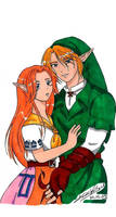 TLOZ - Malon and Link