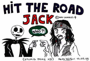 Hit the road Jack by KeikoWolfgirl