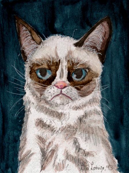 Grumpy Cat by Niverdia