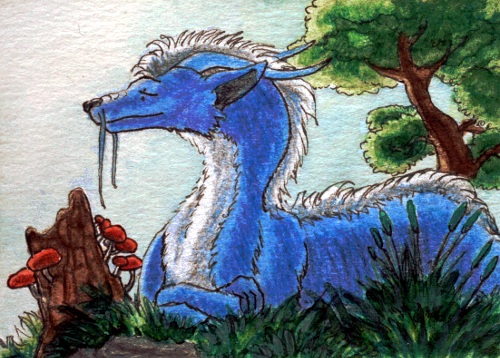 ACEO - Sunlight On My Face by Niverdia