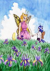 [SM] Among the Irises by Niverdia
