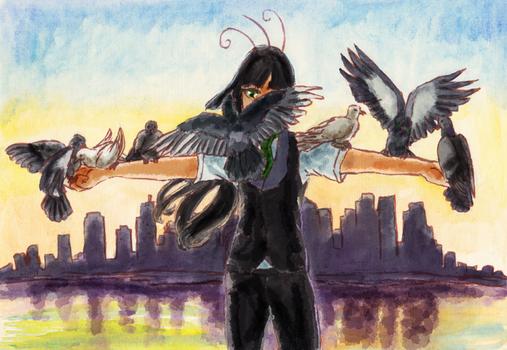 saint of pigeons