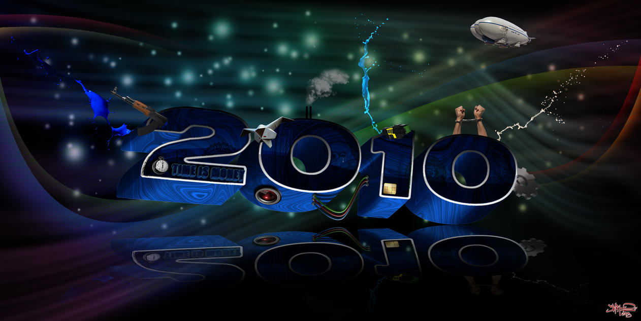 Happy 2010 by Ornorm