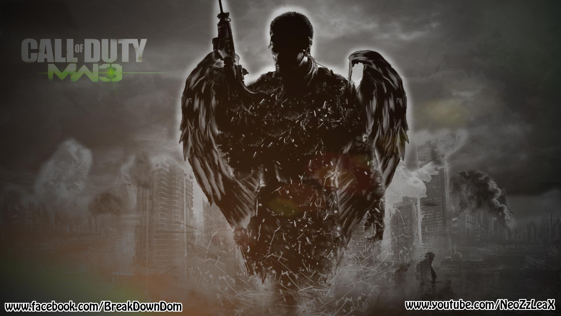 Call Of Duty Modern Warfare 3 Wallpaper By Neozzleaxdesignzz On