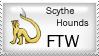 Scythe Hound Stamp by Trivia-Master