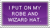 Robe and Wizard Hat by Trivia-Master