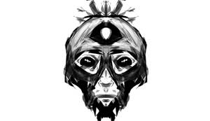 Masked Man Doodle by Trivia-Master